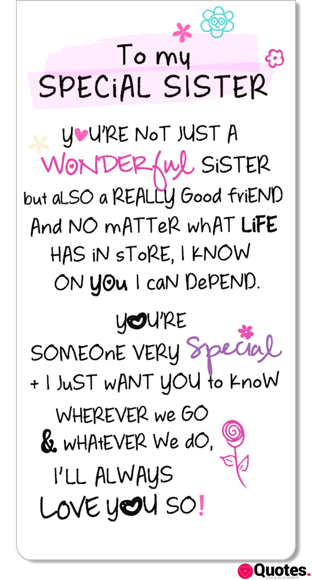 7 sister love quotes : - Love Quotes Daily - Leading Love