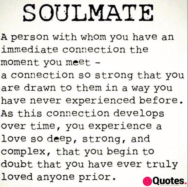10 Beautiful Soulmate Love Quotes
