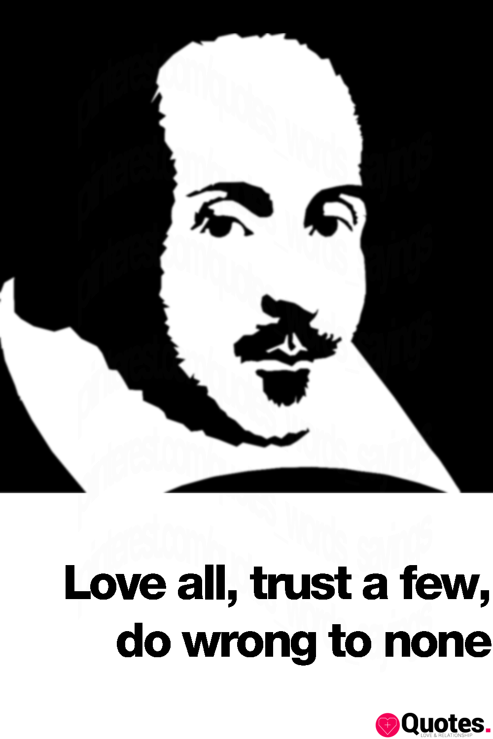 Love quotes sayings trust and No Trust