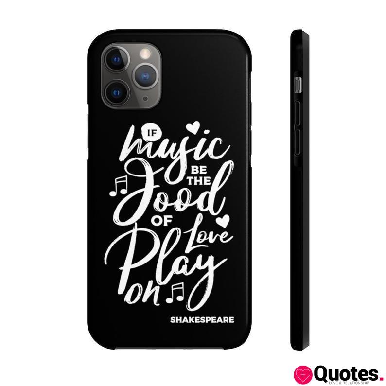 Shakespeare / Phone Case / Author Quotes