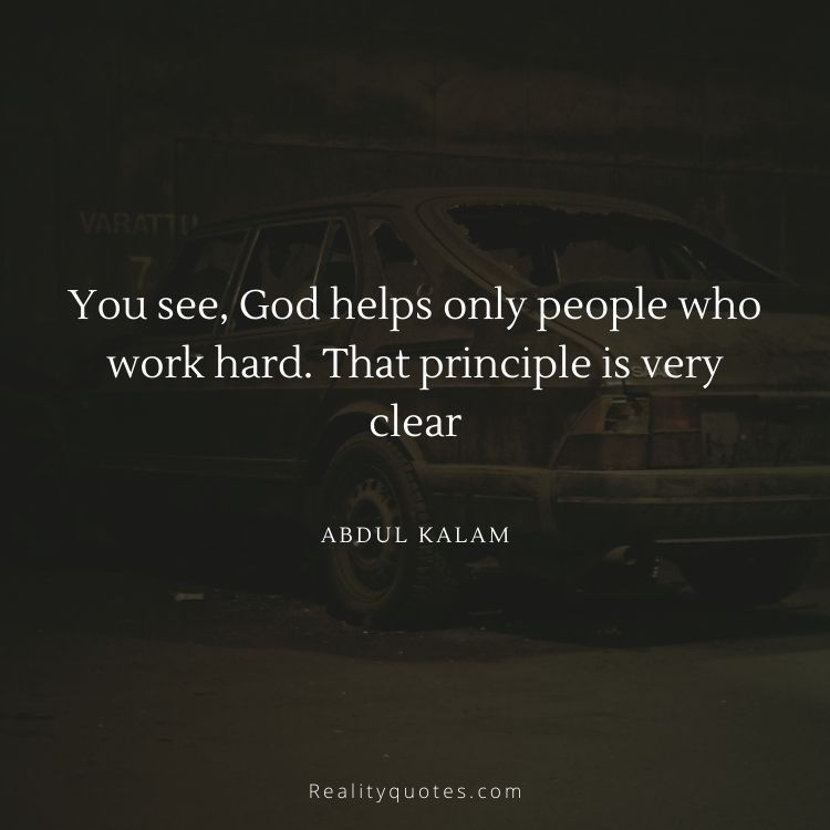 50 Best Abdul Kalam Quotes About Dream And Work