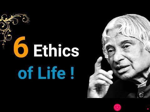 6 Ethics of Life    Dr APJ Abdul Kalam Sir Quotes    Whatsapp Status Quotes    Spread Positivity